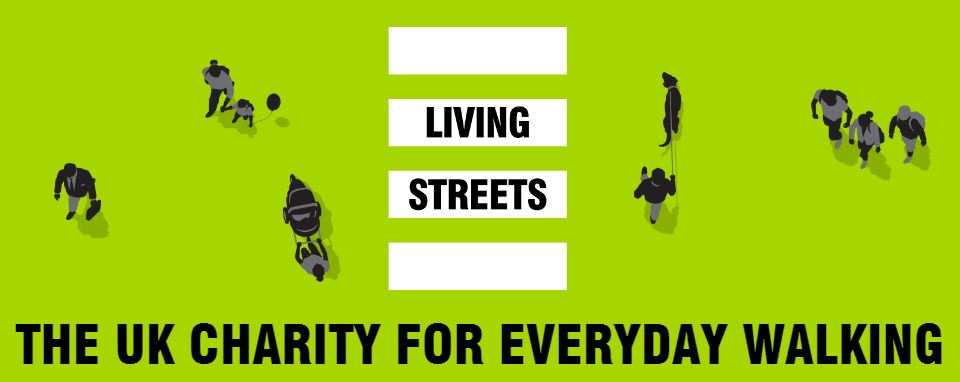 Living Streets Walking Charity logo