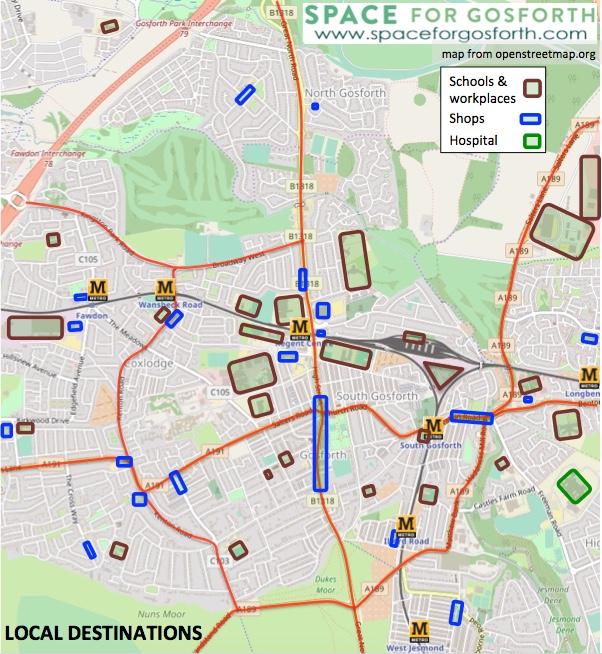Building a Safe Cycling Network for Gosforth - SPACE for