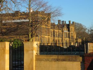 Picture of the former La Sagesse school which is now converted for housing
