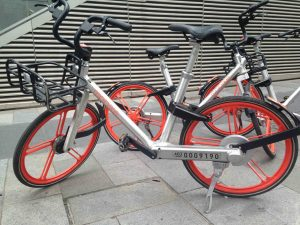 Picture of a Mobike