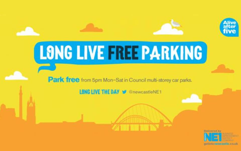 Long Live Free Parking - Alive After Five