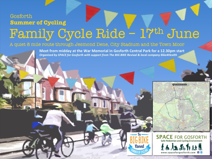 Family Cycle Ride poster