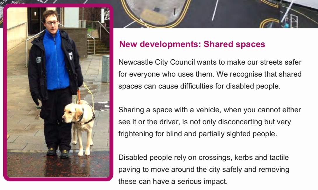 Text from the Street Charter relating to shared space
