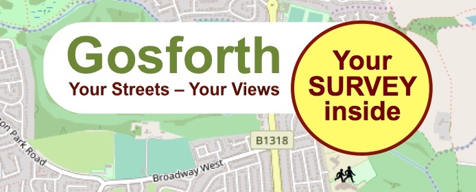 Your Streets - Your Views. Survey Inside.