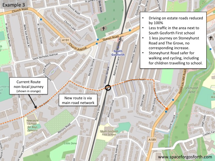 Map of the area next to Stoneyhurst Road bridge - description in accompanying text.