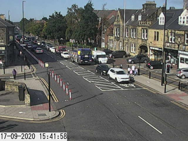 Traffic Camera looking north from Salters Road