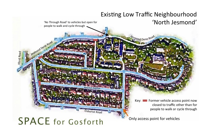 Annotated Map of North Jesmond